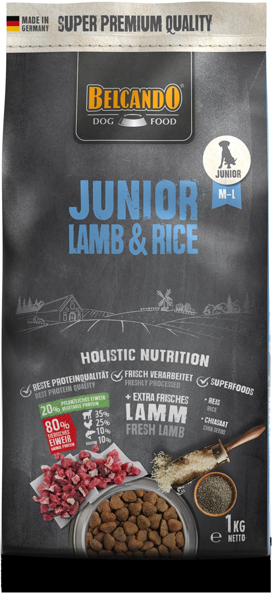 Belcando-Junior-Lamb-Rice-1kg-front